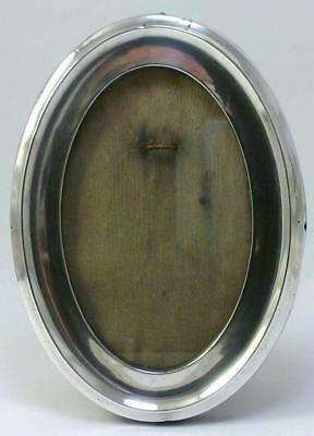 "Antique hallmarked Sterling Silver Mounted  5 ½ "" x 4""  Photo Frame – 1915"