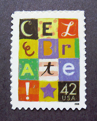 Sc # 4335 ~ 42 cent Celebrate Issue (db2)