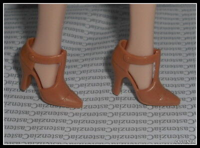 SHOES BARBIE MATTEL GALLERY OPENING T-STRAP HIGH HEEL SHOES CLOSED TOE ACCESSORY