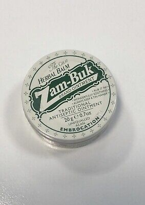 ZAM BUK Pocket 20g Tin Antiseptic Ointment Herbal for Ailments Minor Wound Burns