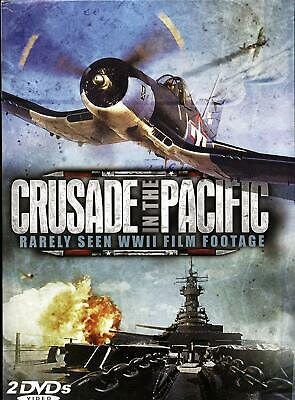 AMERICAN CRUSADE IN The Pacific Wwii War 12 Feature Footage Movies
