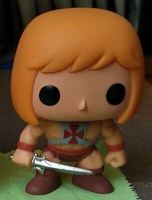 He-Man Funko POP! Television Out of box Masters of the Universe Vaulted 17 MOTU