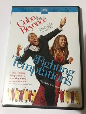 The Fighting Temptations (DVD, 2003, Full Screen) Canadian  Cuba & Beyoncé