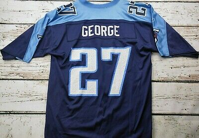outlet store 2d2c5 998b5 NEW REEBOK DALLAS Cowboys NFL Eddie George #27 Home White ...