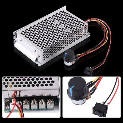 Durable 10-50V 100A 5000W 12 24 DC Motor Speed Controller PWM Control Tool
