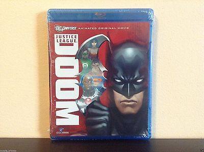 Justice League: Doom (Blu-ray Disc, 2012) *BRAND NEW*