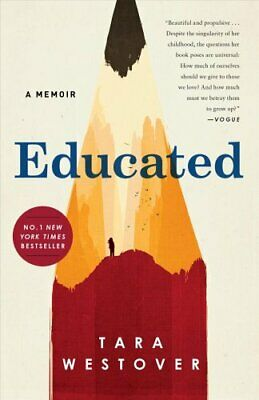 Educated A Memoir by Tara Westover 9781984854858 | Brand New | Free US Shipping