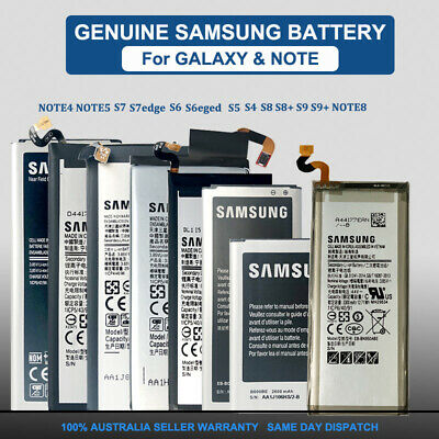 Genuine Replacement Battery For Samsung Galaxy S5 S6 S7 edge Note 4 FullCapacity