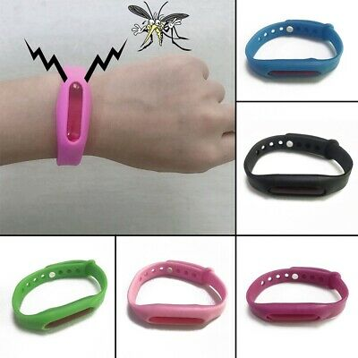 Outdoor Anti Mosquito Pest Insect Bug Repeller Repellent Wrist Band Bracelet