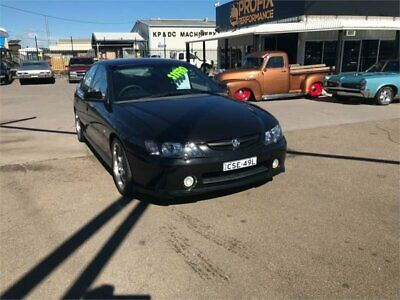 2004 Holden Commodore VY II SS Black Manual 6sp M Sedan