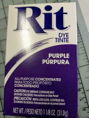 Rit Fabric Dye/Tint - All Purpose - Best for 100% Cotton - Purple