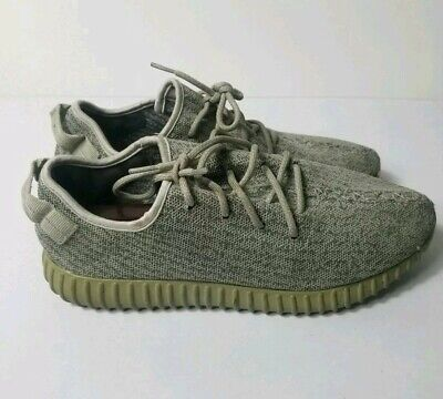 e1a685d2 ADIDAS YEEZY Boost 350 Moonrock Shoes Mens Size 11.5 Gray Kanye West  Sneakers