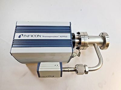 Inficon XPR3, XPRTX100-1570 Transpector + Inficon PSG400, FL-9496 Balzers