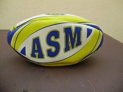 084327665b7c8 BALLON RUGBY ASM Clermont Auvergne Vintage Taille 5 Maillot Top 14 ...