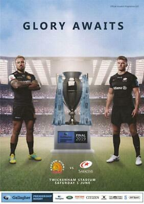 * EXETER CHIEFS v SARACENS (PREMIERSHIP RUGBY FINAL - 1st June 2019) *