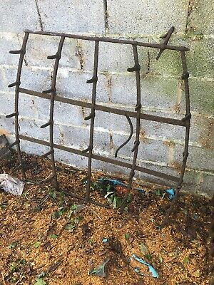 Reclaimed Old Garden 4ftX4ft Harrow , Grass Harrow Spike