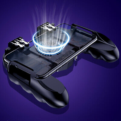 Heat Dissipation PUBG Mobile Phone Game Controller Gamepad Cooling Fan Joystick