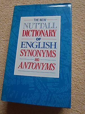 THE NEW NUTTALL Dictionary of English Synonyms and Antonyms (Viking