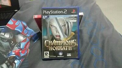 PS2 CHAMPIONS OF NORRATH An Action RPG Game Playstation