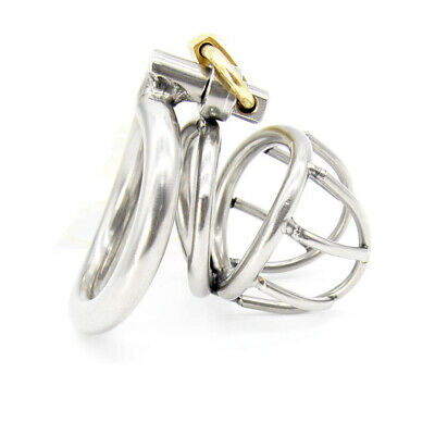 Sexual Wellness Enthusiastic 304 Medical Grade Stainless Steel Birdcage Chastity Device Cage Bondage Ua1146 Health & Beauty