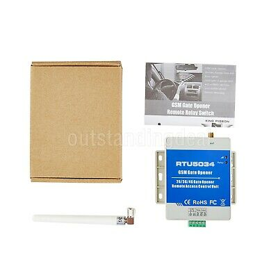 GSM Gate Opener Relay Switch Remote Access Control Unit RTU5034 3G Version os12