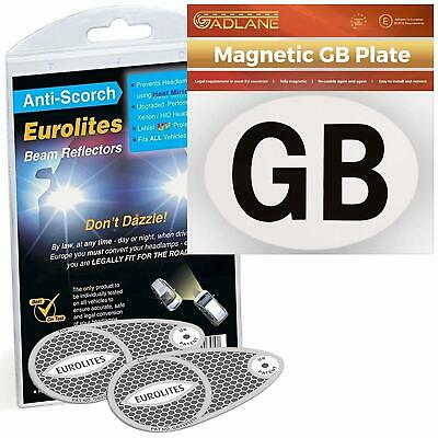 Eurolites Deflectors Headlamp Beam Adaptors Converters & GADLANE Magnetic GB...