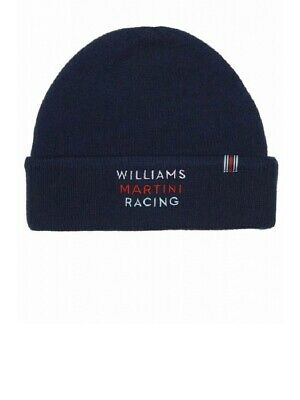 f589305a HAT Beanie Williams Martini Racing Formula One 1 F1 Hackett Sponsor AT
