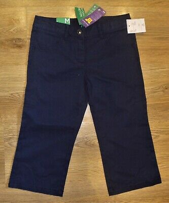 Girl's Benetton Wide Leg Trousers Age 7-8 Years RRP £22.95 - New With Tags