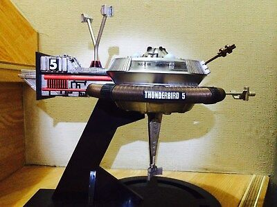 11in John Tracy Alan Tracy Thunderbird 5 Spacestaion figure 40th Anniversary