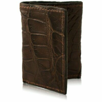 bc6d36c45 HANDMADE AMISH LEATHER Trifold Wallet in Black or Brown Tri Fold ...