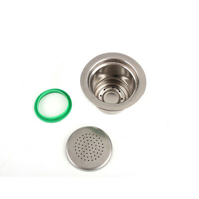 Stainless Steel Refillable Reusable For Nespresso Coffee Machine Maker Capsules