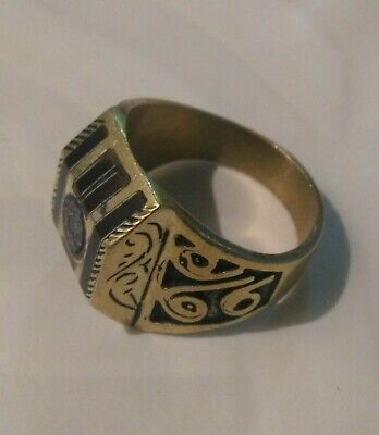 AMAZING ANCIENT Old ANTIQUE RARE VINTAGE ROYAL RING BRONZE ARTIFACT GOOD QUALITY