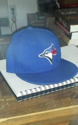 hot sale online 5c0b4 bc12d Toronto Blue Jays Hat 6 3 4 MLB Authentic New Era 59FIFTY