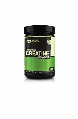 Optimum Nutrition Micronised Creatine Monohydrate formulated for Muscle Devel...