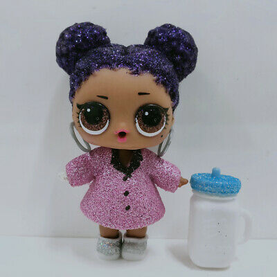 lol doll Big Sister Serie Purple Queen Purple Hair Dress Girls Birthday Gift