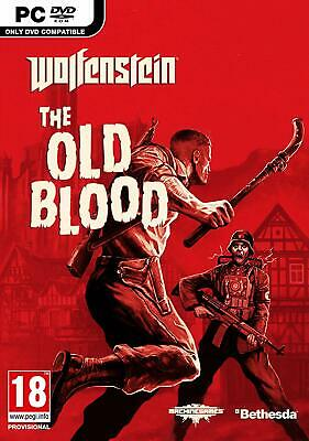 Wolfenstein The Old Blood for PC DVD *NEW & SEALED*