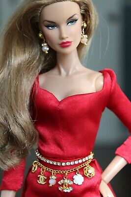 Fashion royalty/Poppy Parker/Color Infusion/ Industry /Barbie jewelry set
