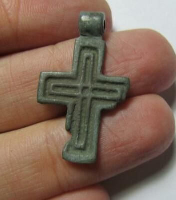Ancient cross 15-16 centuries  100% original Metal detector finds