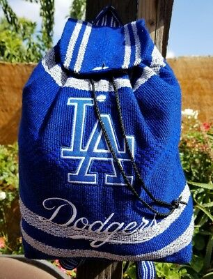 MLB Los Angeles DODGERS Mexican backpack handmade aztec tote bag