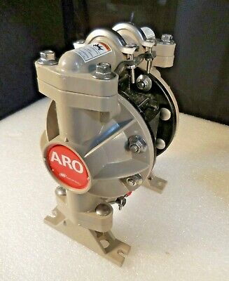 ARO Ingersoll-Rand 666053-388 Polypropylene Air Operated Double Diaphragm Pump