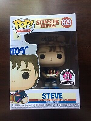 Funko Pop! Television: Stranger Things — Steve (Baskin Robbins Exclusive) #829