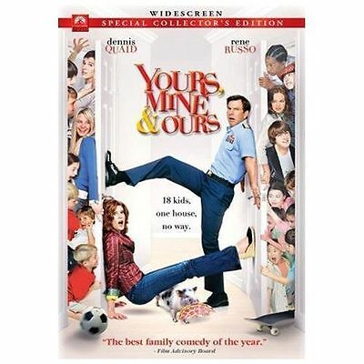 Yours, Mine,  Ours (DVD, 2006, Widescreen Version) GOOD