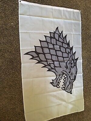 Game Of Thrones 3x5 Stark Flag New LOW INVENTORY