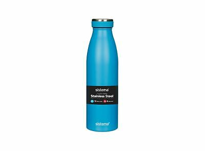 Sistema Stainless Steel Bottle, 500ml (assorted colours)