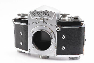 Ihagee Exakta VX 35mm SLR Film Camera with Prism Finder and Spool TESTED RA12