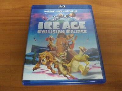 Ice Age: Collision Course (Blu-ray/DVD, 2016, 2-Disc Set)