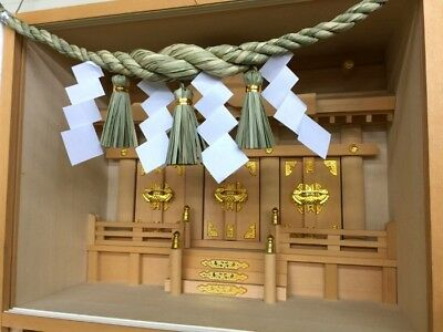 Shimenawa with Shide for Kamidana or Entrance of the house 70cm Japan Straw Art