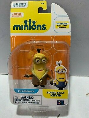 Illumination Entertainment Movie Exclusive Minions Poseable Bored Silly Kevin