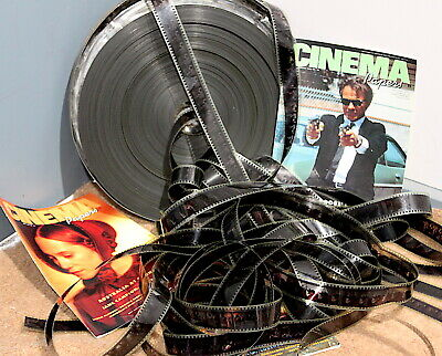 VINTAGE 35mm Projection film. 12-metre rolls for display, film buffs, decoration