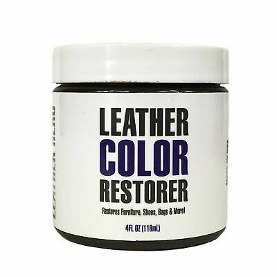 Leather Dye Repair Kit for Couches, Furniture, Shoes- Leather Hero Cream 4oz